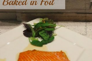 Honey Salmon baked in foil recipe