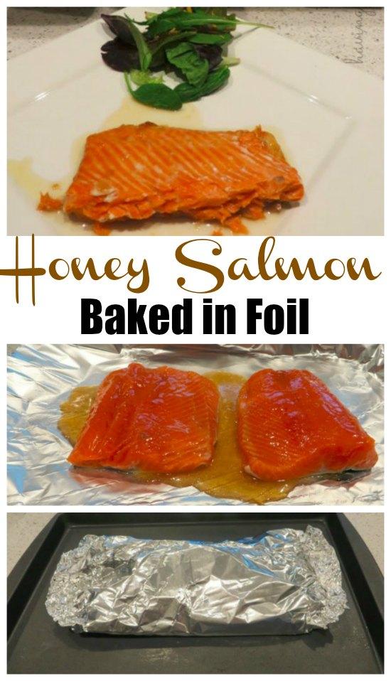 Honey Salmon Baked in Foil Recipe
