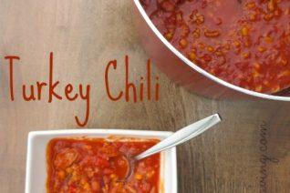 Recipe for Turkey Chili