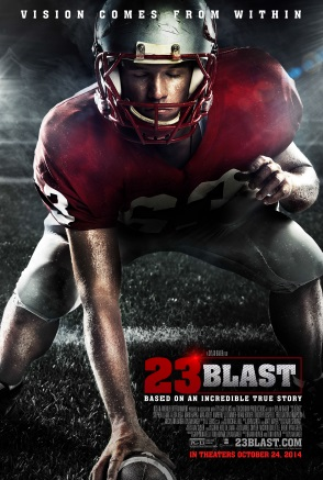23 Blast Movie Review – Vision Comes From Within #23Blast