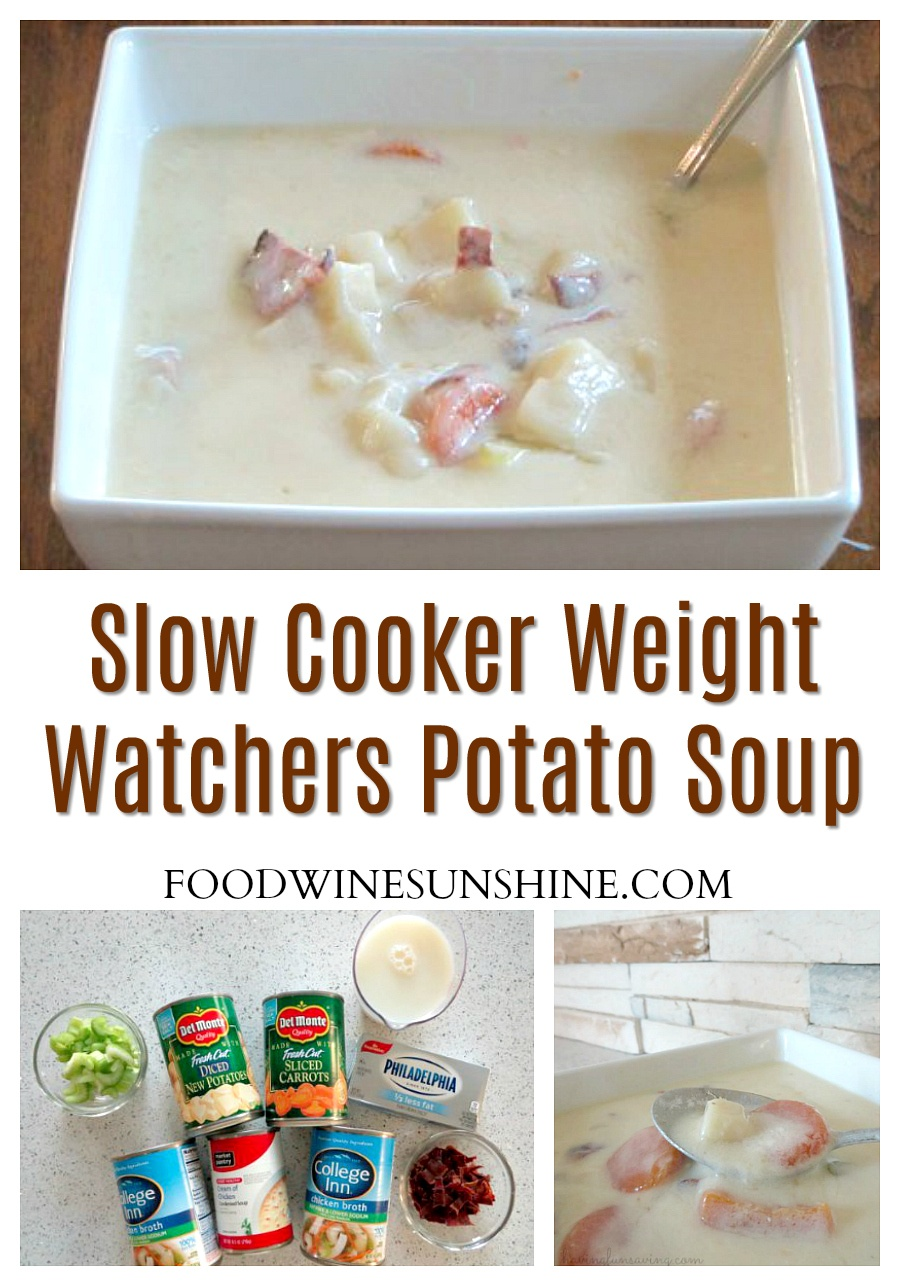 Slow Cooker Weight Watcher Potato Soup