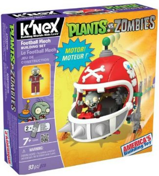 K'NEX Mechanical Football Building Set Review + Amazon Deal