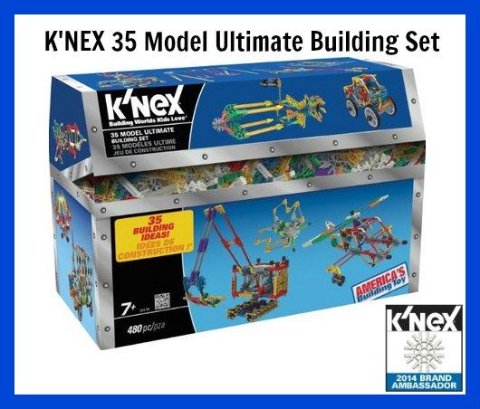K'NEX 35 Model Ultimate Building Set Review – Get Building!