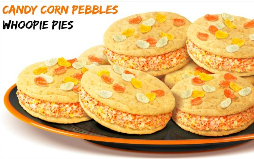 Candy Corn Whoopie Pie Recipe – Made With Pebbles!