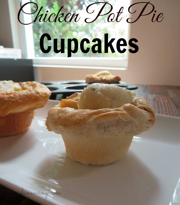 Recipe for Chicken Pot Pie Cupcakes