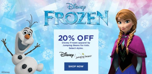 Kohl's Coupon Codes – 20% Off Frozen + 20% Off Purchase + Lots of $10 Codes!