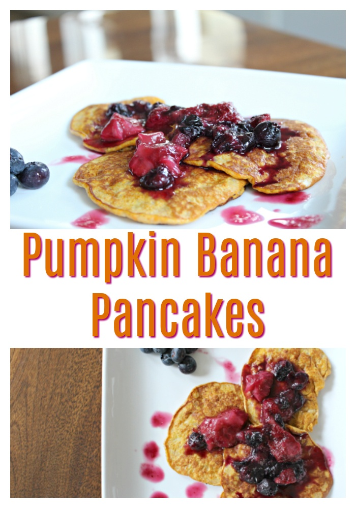 Best Pumpkin Banana Pancakes