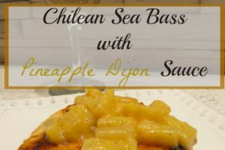 Chilean Sea Bass with Pineapple Dijon Sauce Recipe