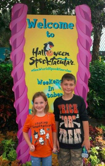 SeaWorld Spooktacular Event