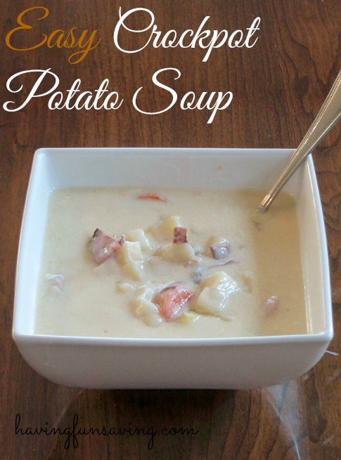 Easy Weight Watcher Potato Soup