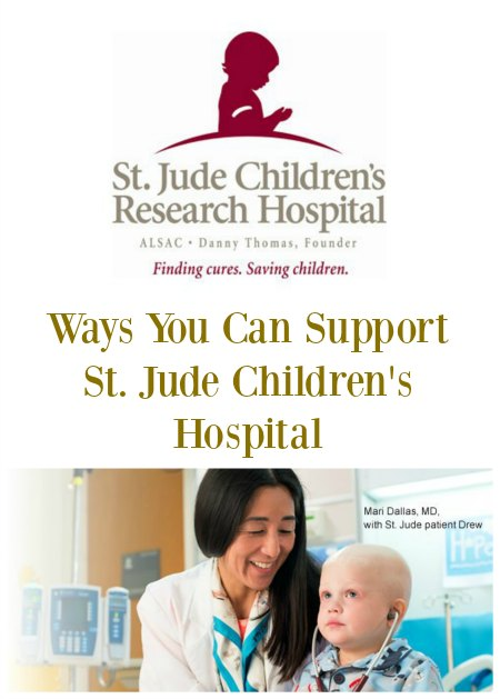 Ways To Support St. Jude Children's Hospital on Food Wine Sunshine