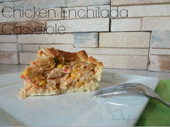 Recipe for Chicken Enchilada Casserole