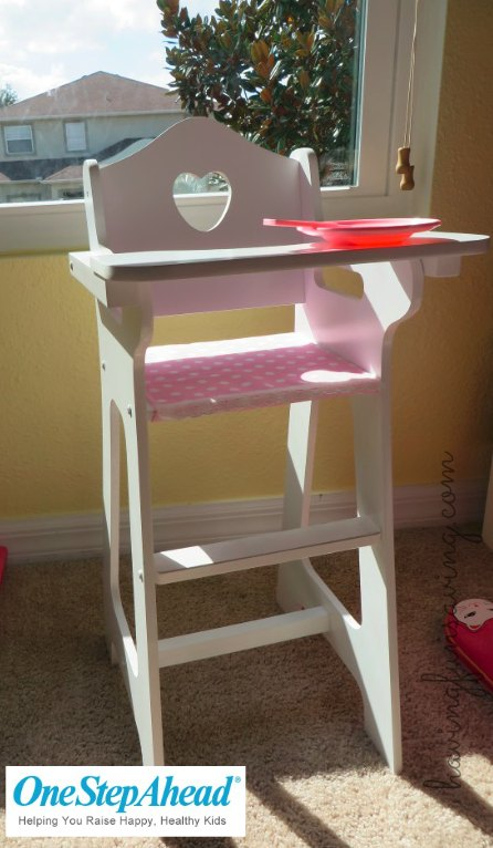 Doll High Chair by One Step Ahead – Adorable Gift Idea