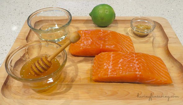 Honey and Lime Salmon Recipe