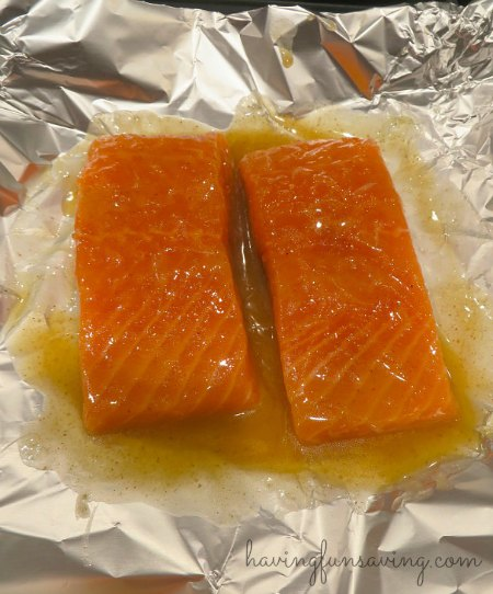 Honey Lime Baked Salmon Recipe