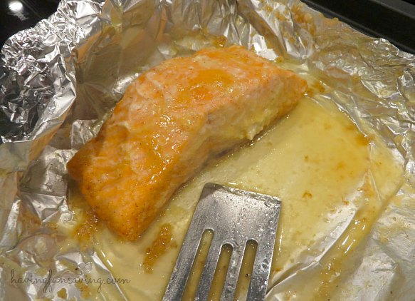 Honey and Lime Baked Salmon