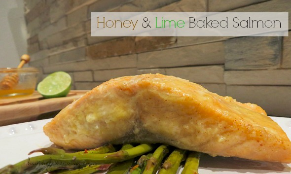 Recipe for Honey & Lime Baked Salmon