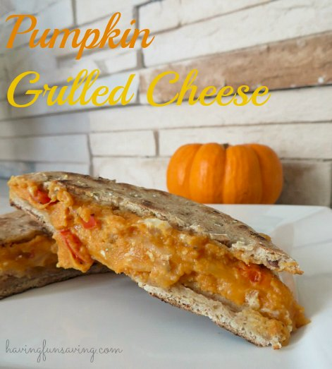 Pumpkin Grilled Cheese