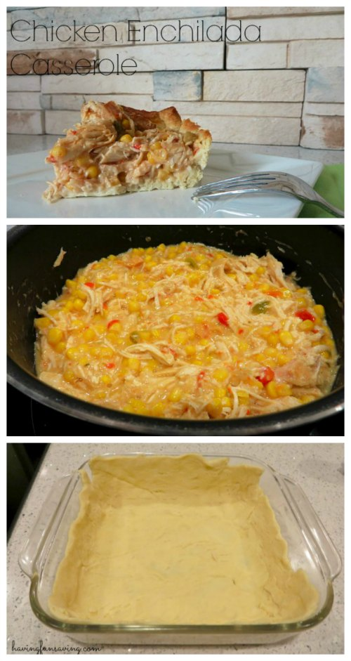 Chicken Enchilada Casserole Recipe on Food Wine Sunshine and Cooking