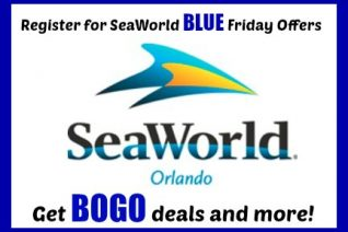 Register for SeaWorld Blue Friday Deals