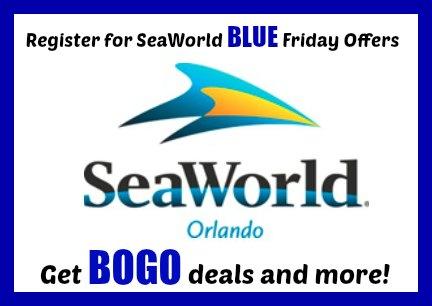 Register For SeaWorld Blue Friday Deals – HOT BOGO Offers!