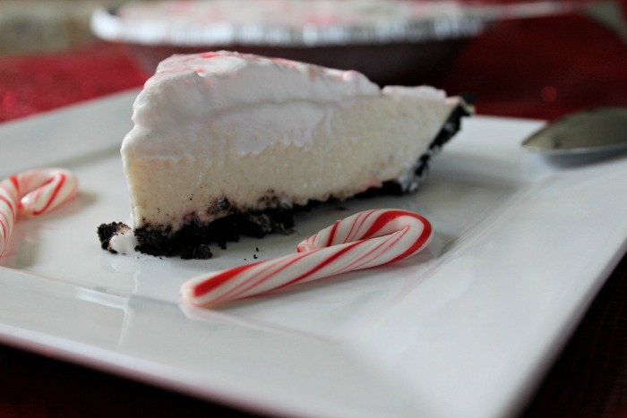 White Chocolate Peppermint Pie on Food Wine Sunshine