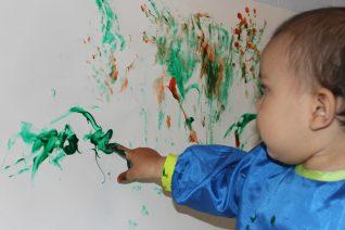 Homemade Finger Paints Finger painting