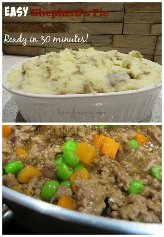 Easy Shepherd's Pie Recipe - Ready In 30 Minutes!