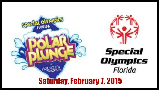 Polar Plunge at Aquatica To Support Special Olympics