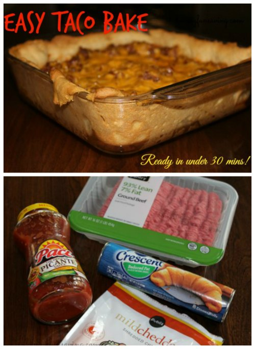 Taco Bake - Easy Family Meal on Food Wine Sunshine