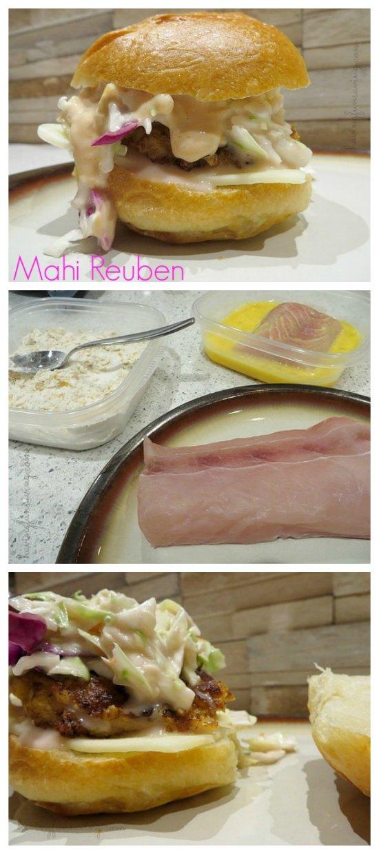 Mahi Reuben Recipe on Food Wine Sunshine
