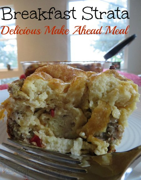 Recipe for Breakfast Strata