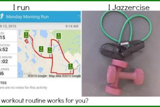 Jazzercise makes me a better runner