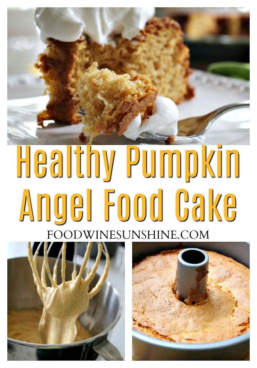 Best WW Pumpkin Angel Food Cake