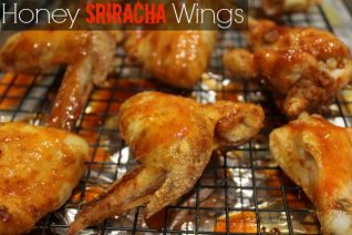 Honey Sriracha Wings Recipe
