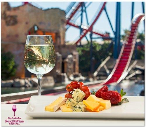 Busch Gardens Food and Wine Festival