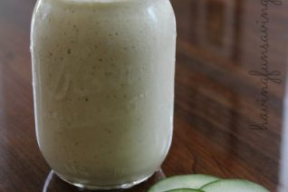 Cucumber Mango Smoothie recipe