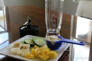 Cucumber Mango Smoothie Recipe