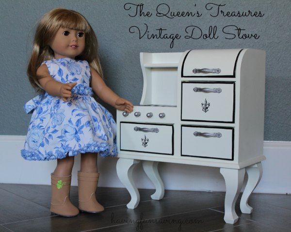 The Queen's Treasures Doll Stove