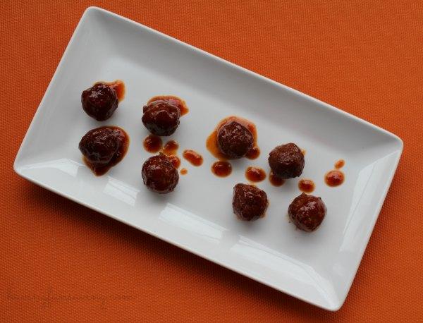 Grape Jelly Meatballs recipe