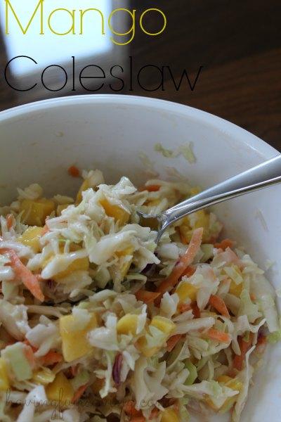 Mango Coleslaw Recipe