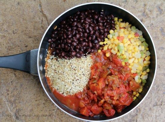 Vegetarian Mexican Quinoa