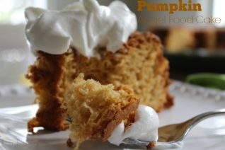 Pumpkin Angel Food Cake Recipe