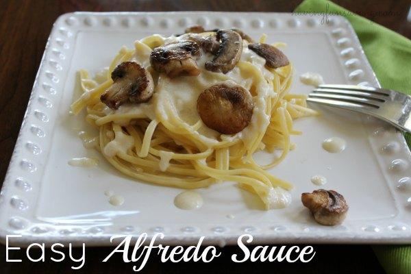 Alfredo Sauce Recipe