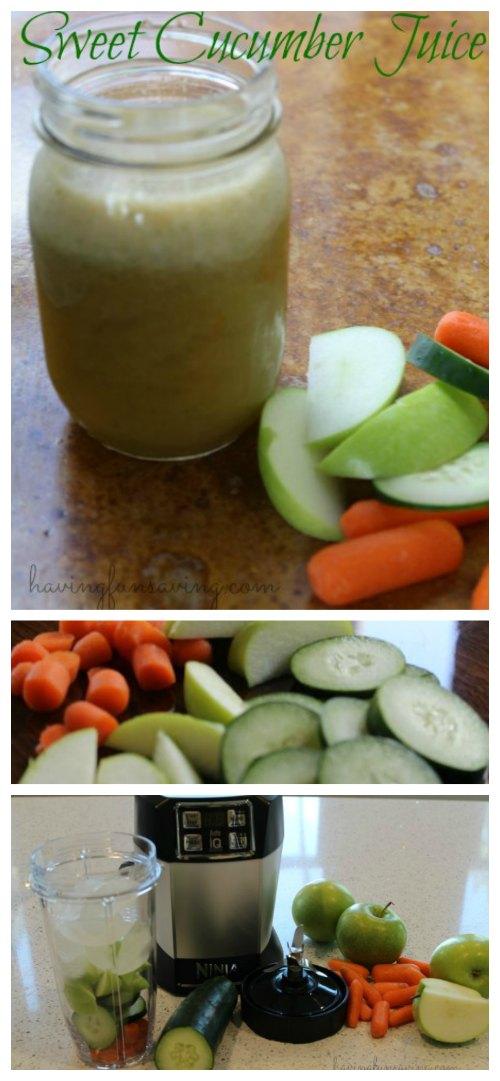 Homemade Sweet Cucumber Juice