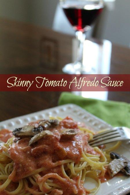 Skinny Tomato Alfredo Sauce Recipe