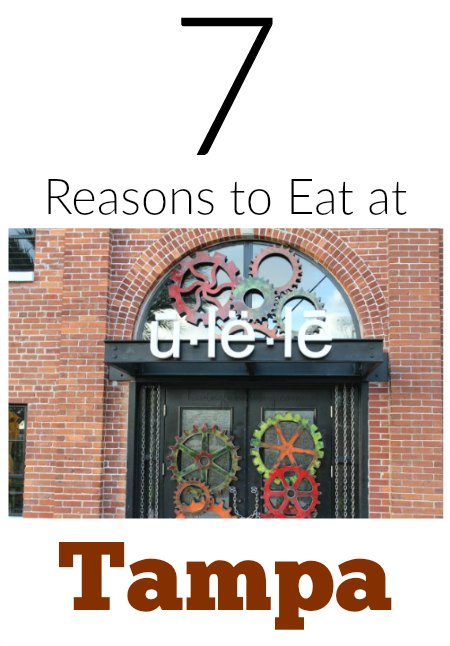 Reasons to eat at Ulele in Tampa on Food Wine Sunshine
