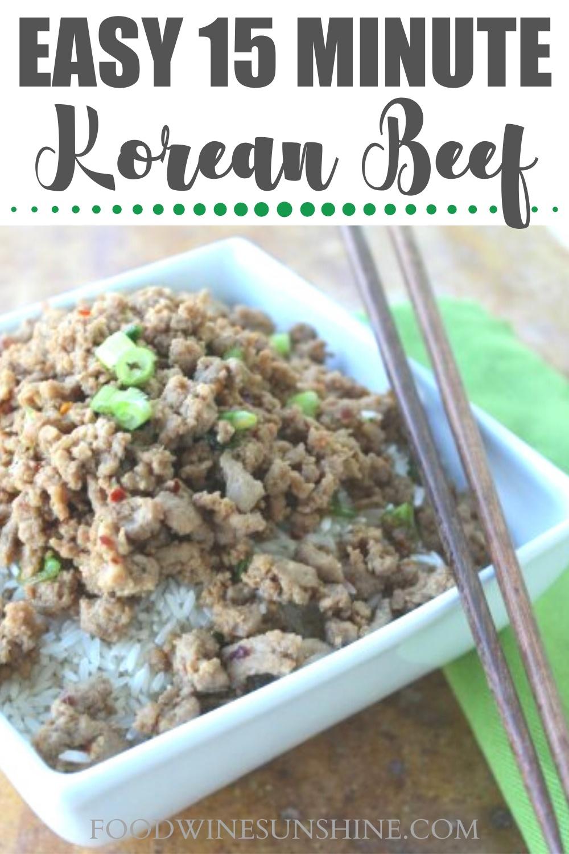 WW Korean Beef