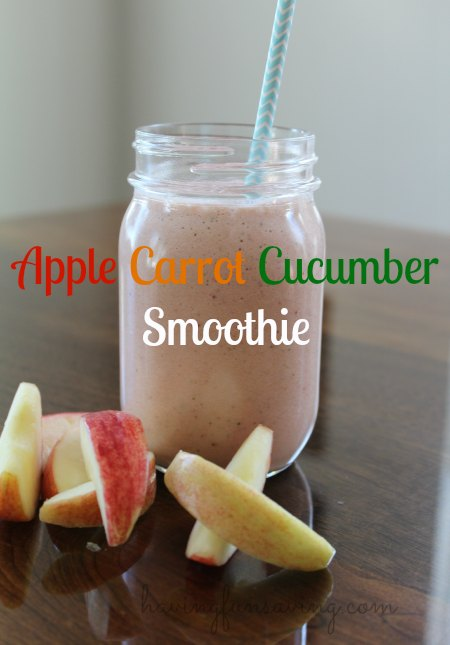 Apple Carrot Cucumber Smoothie
