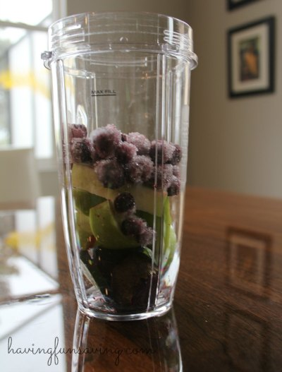 Healthy Beet Blueberry Smoothie